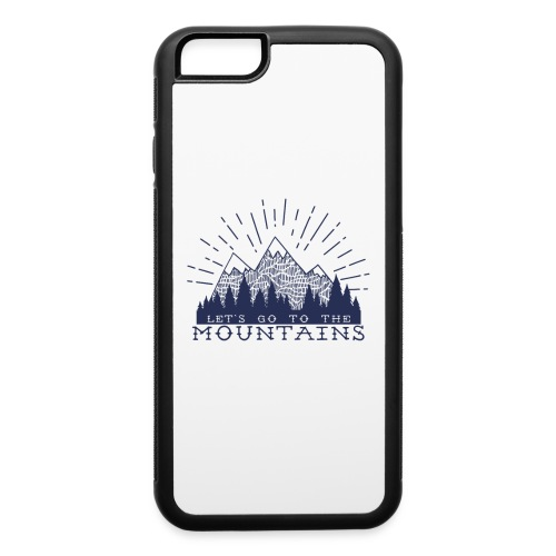 Adventure Mountains T-shirts and Products - iPhone 6/6s Rubber Case