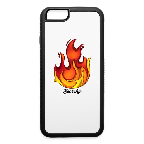 Scorchy Logo Black - iPhone 6/6s Rubber Case
