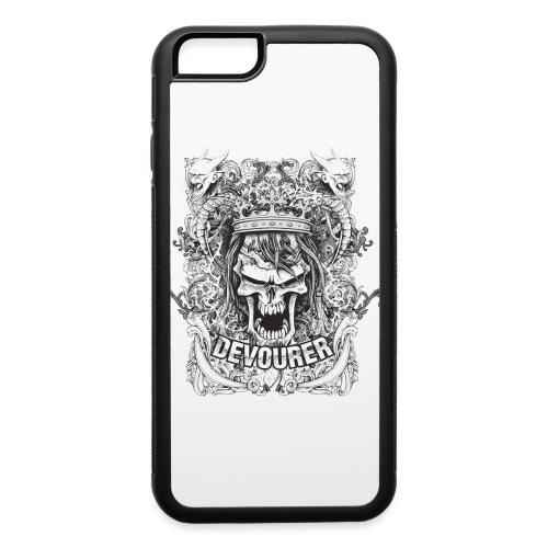 Devourer tshirt design P40Edesign - iPhone 6/6s Rubber Case
