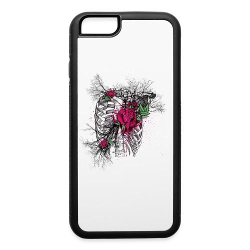 Skeleton Rose - iPhone 6/6s Rubber Case