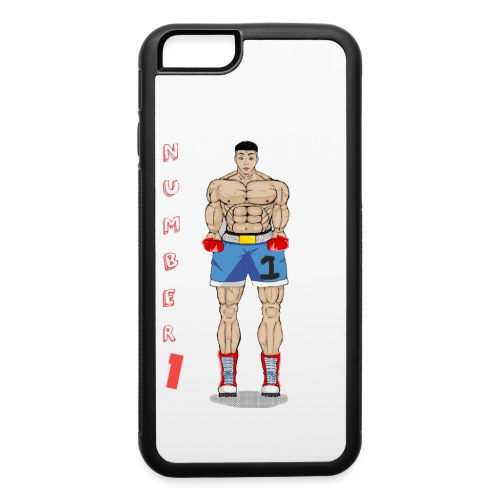 number 1 - iPhone 6/6s Rubber Case