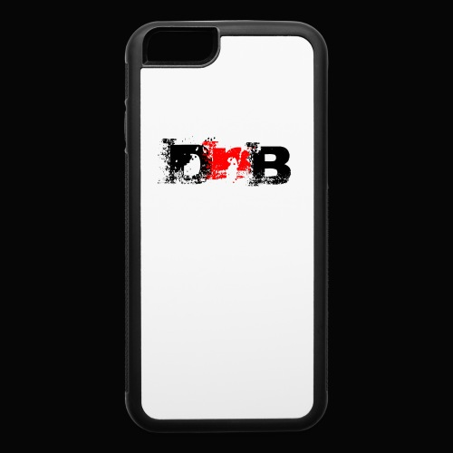 DALEY AND BOMBAY LOGO BALCK CASE - iPhone 6/6s Rubber Case