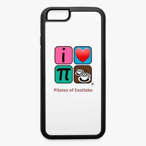 color with text - iPhone 6/6s Rubber Case