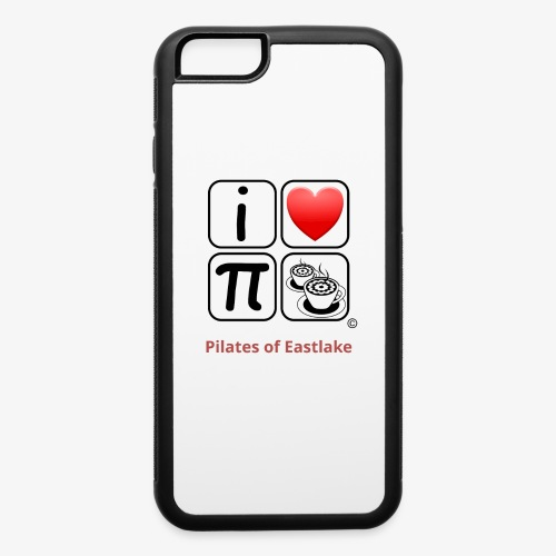 I love Pilates black and white - iPhone 6/6s Rubber Case