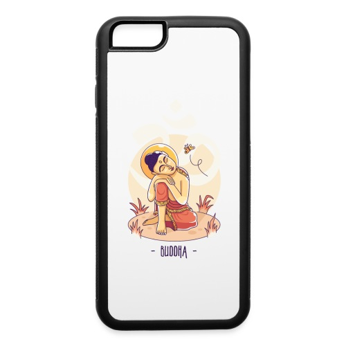 Buddha and Aum - iPhone 6/6s Rubber Case