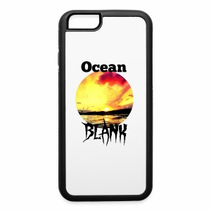 Ocean Blank sunset - iPhone 6/6s Rubber Case