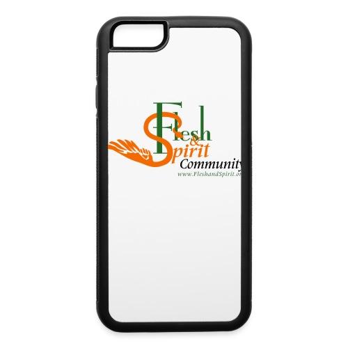 Flesh and Spirit Community T-Shirt - iPhone 6/6s Rubber Case