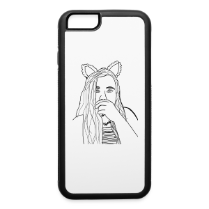 Ekcat Sketch Collection - iPhone 6/6s Rubber Case