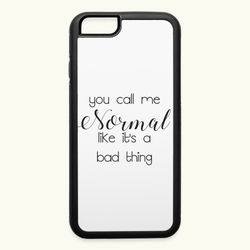 Call me normal - iPhone 6/6s Rubber Case
