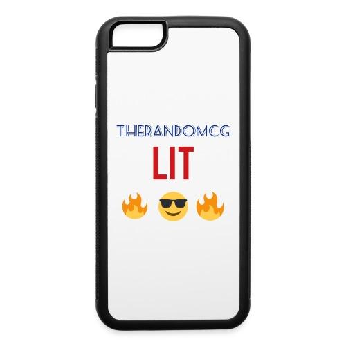 TheRandomCG Is Lit - iPhone 6/6s Rubber Case