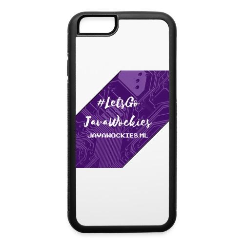 #LetsGoJavaWockies - iPhone 6/6s Rubber Case
