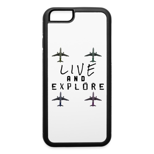 Live and Explore - iPhone 6/6s Rubber Case