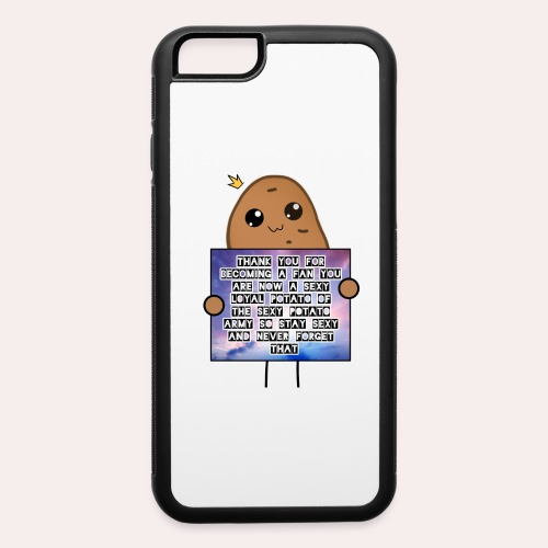 Support Potato - iPhone 6/6s Rubber Case