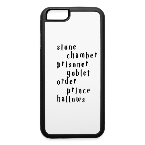 potterseriesdesign png - iPhone 6/6s Rubber Case