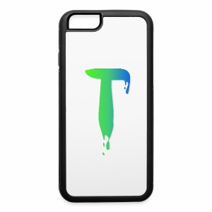 Colored Tlicker Logo - iPhone 6/6s Rubber Case