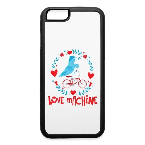 Cute Love Machine Bird - iPhone 6/6s Rubber Case