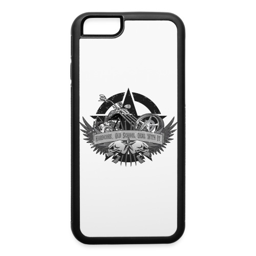 Hardcore. Old School. Deal With It. - iPhone 6/6s Rubber Case