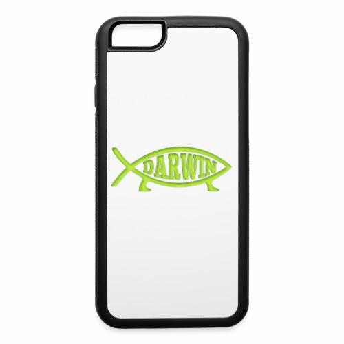 Darwin Fish - Green - iPhone 6/6s Rubber Case