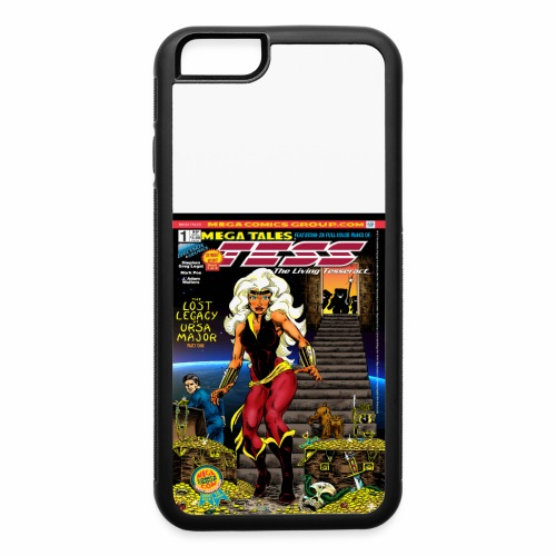 MegaTales No1Vol1Cover1 - iPhone 6/6s Rubber Case