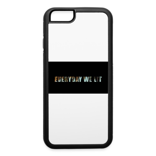 every day we lit - iPhone 6/6s Rubber Case