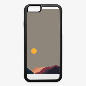 Sun over Mountains Phone Case - iPhone 6/6s Rubber Case