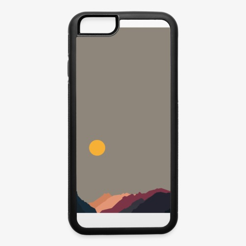 Sun over Mountains Phone Case - iPhone 6/6s Rubber Case