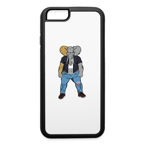 Dumbo Fell in the Wrong Crowd - iPhone 6/6s Rubber Case