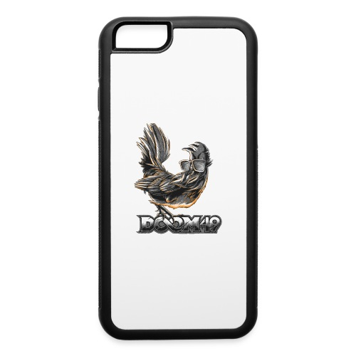 DooM49 Black and White Chicken - iPhone 6/6s Rubber Case