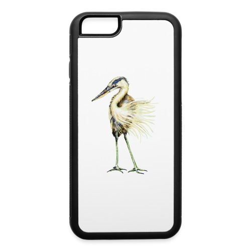 Great Blue Heron - iPhone 6/6s Rubber Case