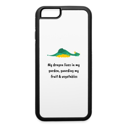 My dragon lives in my garden - iPhone 6/6s Rubber Case