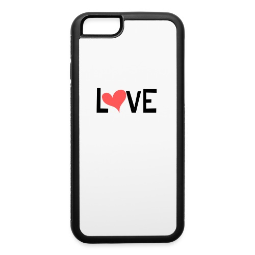 LOVE heart - iPhone 6/6s Rubber Case