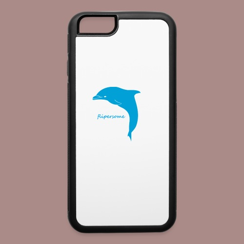 New flipersome Logo - iPhone 6/6s Rubber Case