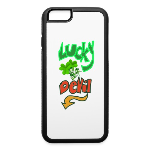 Lucky devil - iPhone 6/6s Rubber Case