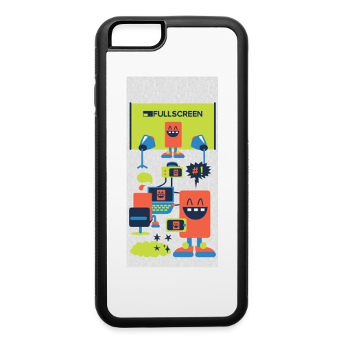 iphone5screenbots - iPhone 6/6s Rubber Case