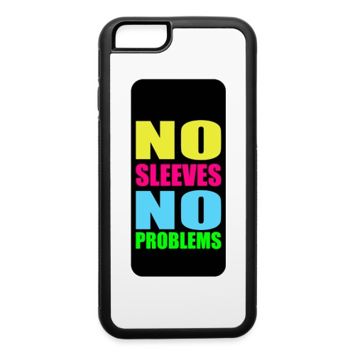 neonnosleevesiphone5 - iPhone 6/6s Rubber Case