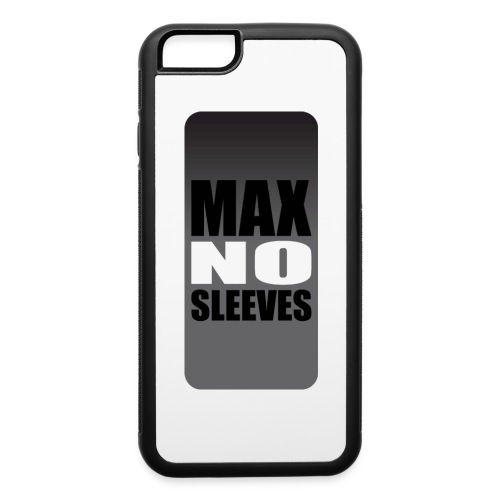 nosleevesgrayiphone5 - iPhone 6/6s Rubber Case