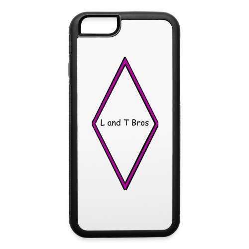 L and T Bros Shirt Purple - iPhone 6/6s Rubber Case