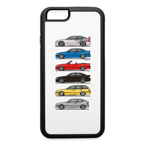 Stack of E36 Variants - iPhone 6/6s Rubber Case