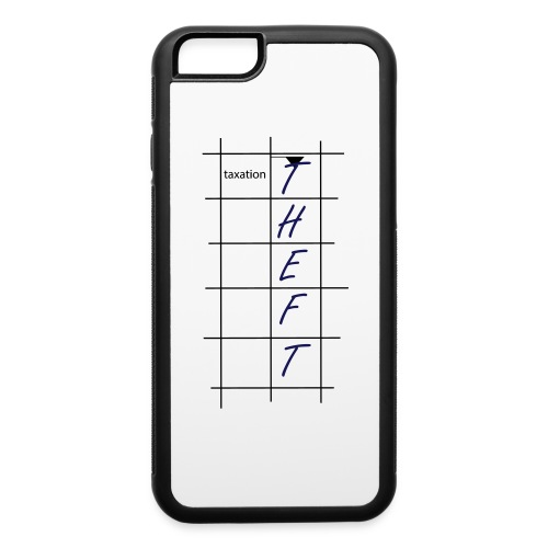 Taxation is Theft Crossword - iPhone 6/6s Rubber Case