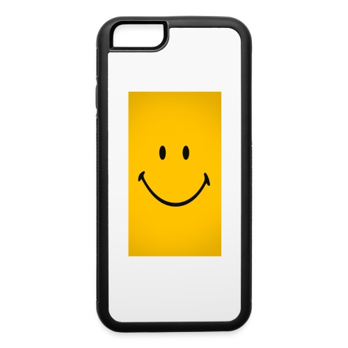 Smiley face - iPhone 6/6s Rubber Case