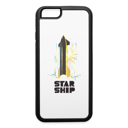 Star Ship Earth - Light - iPhone 6/6s Rubber Case