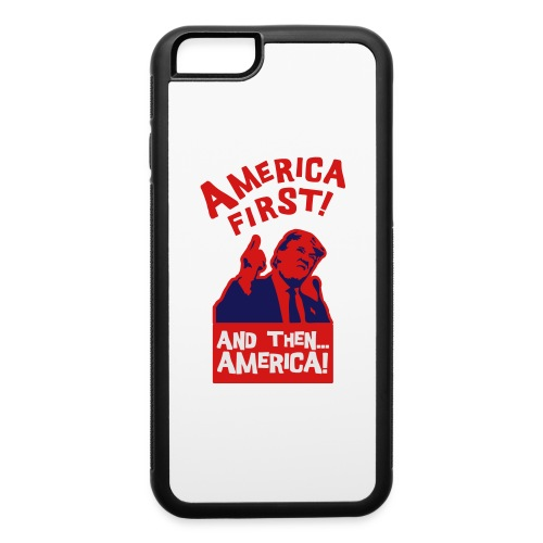 AMERICA FIRST - iPhone 6/6s Rubber Case