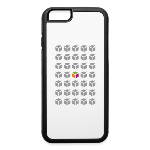 grid semantic web - iPhone 6/6s Rubber Case