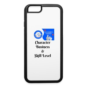Character, Business & Skill Level - iPhone 6/6s Rubber Case