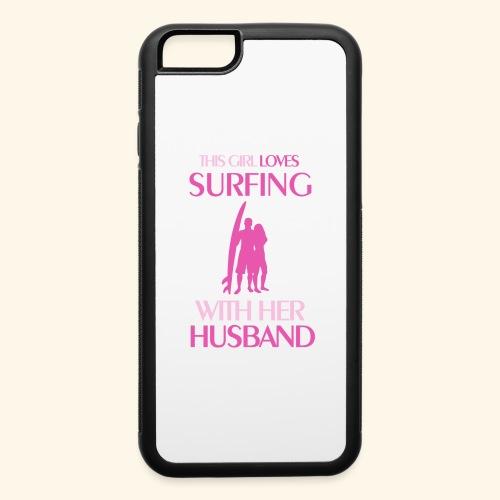 Surf Shirts Womens for Men, Women, Kids, Babies - iPhone 6/6s Rubber Case