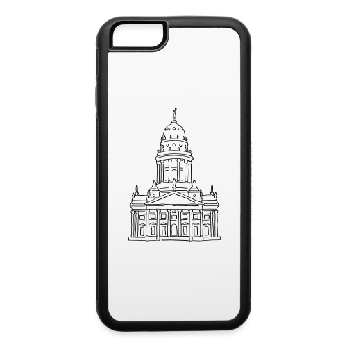 French Cathedral Berlin - iPhone 6/6s Rubber Case