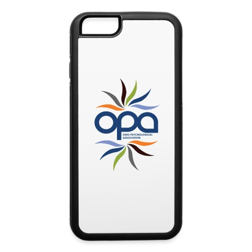 iPhone case with full color OPA logo - iPhone 6/6s Rubber Case