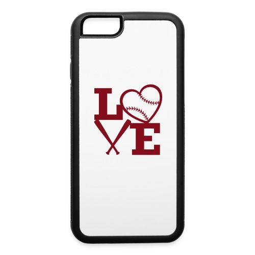 Love baseball - iPhone 6/6s Rubber Case
