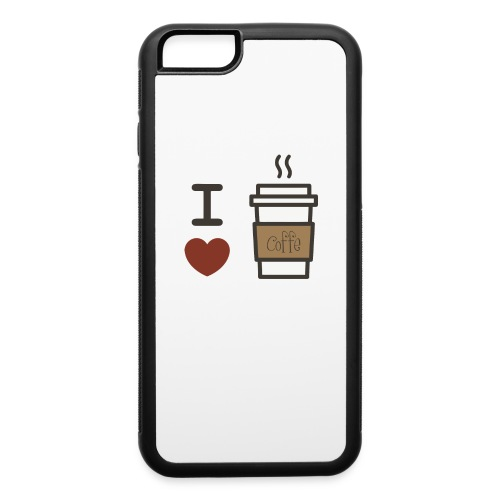 I Love Coffee - iPhone 6/6s Rubber Case
