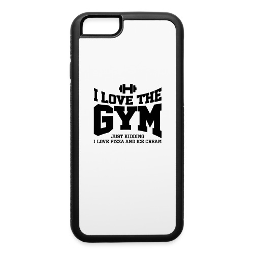 I love the gym - iPhone 6/6s Rubber Case